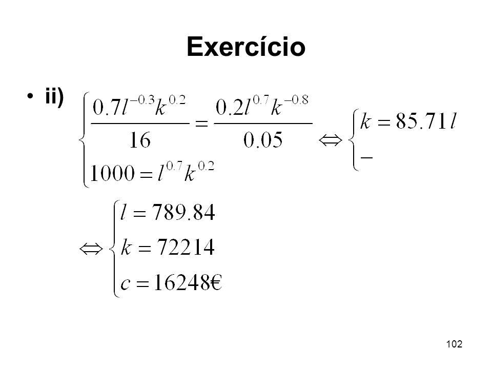 102 Exercício ii)