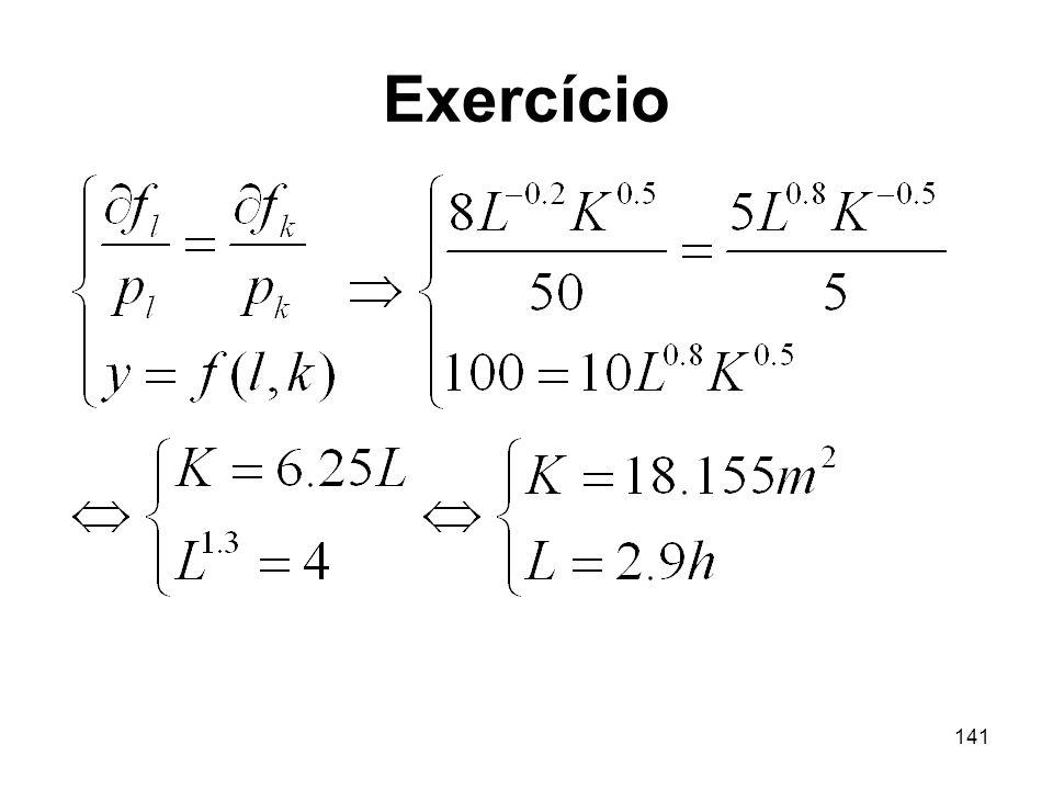 141 Exercício