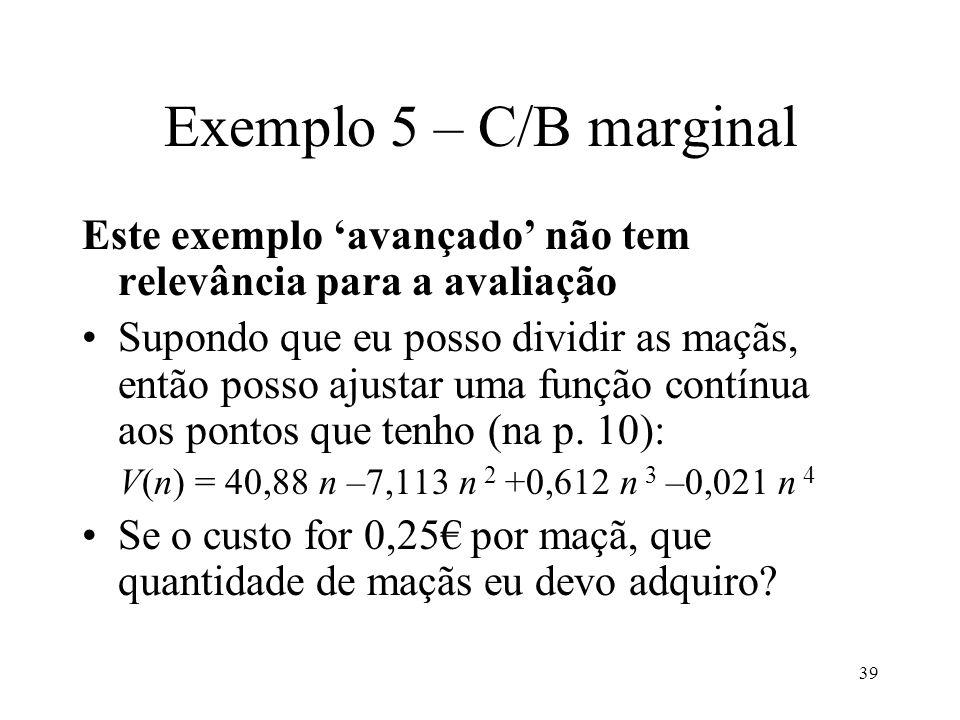 40 Exemplo 5