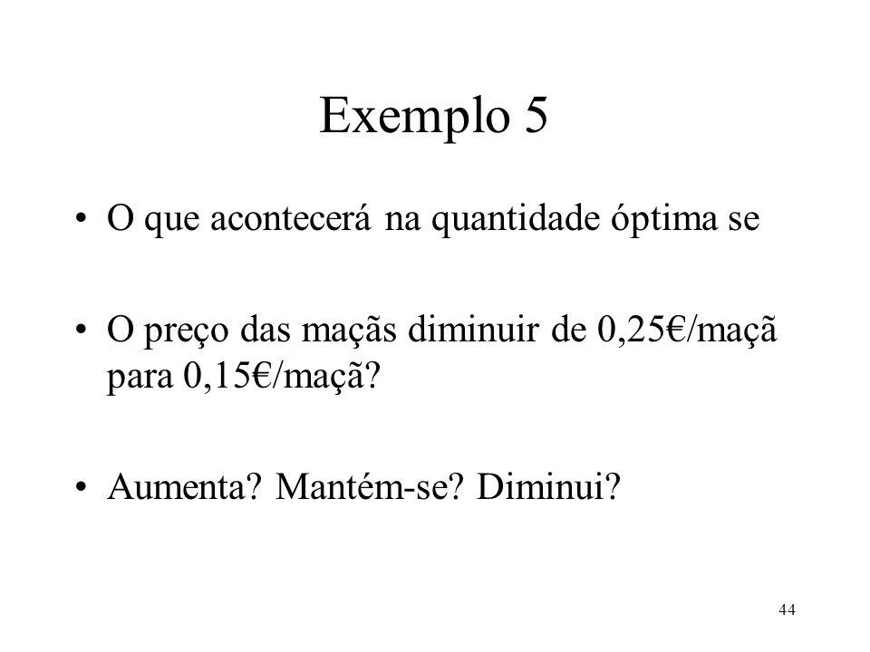 45 Exemplo 5