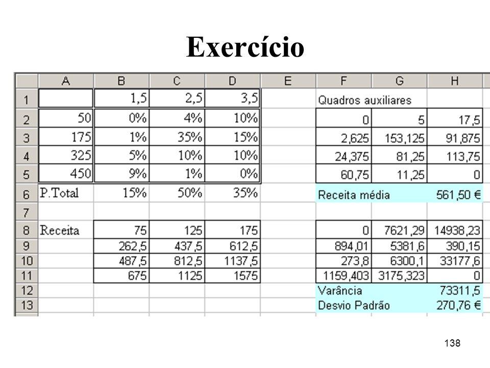 138 Exercício