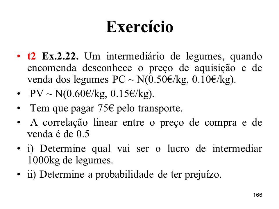 166 Exercício t2 Ex.2.22.