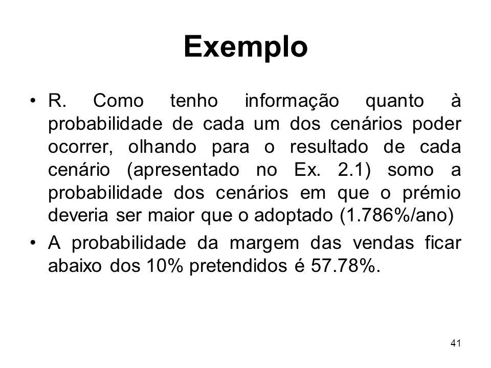 41 Exemplo R.