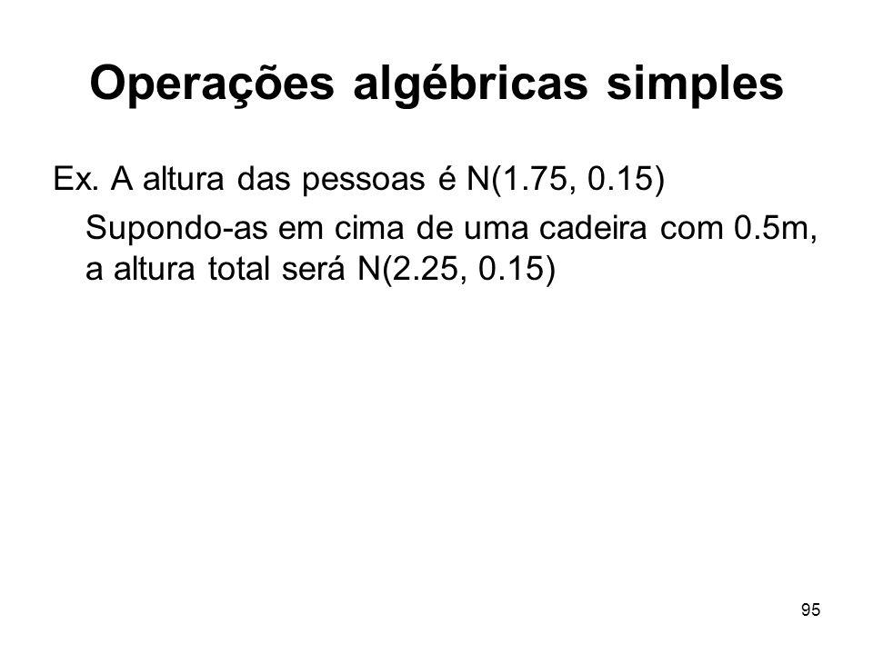 95 Operações algébricas simples Ex.
