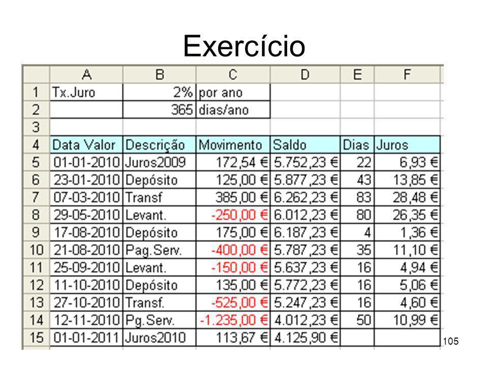 105 Exercício