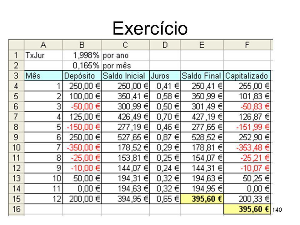 140 Exercício