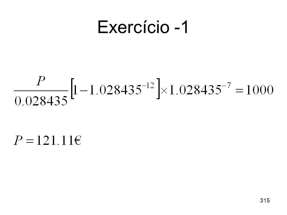 315 Exercício -1