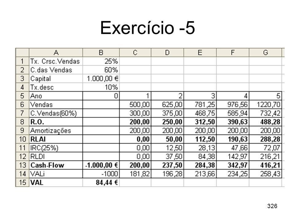 326 Exercício -5