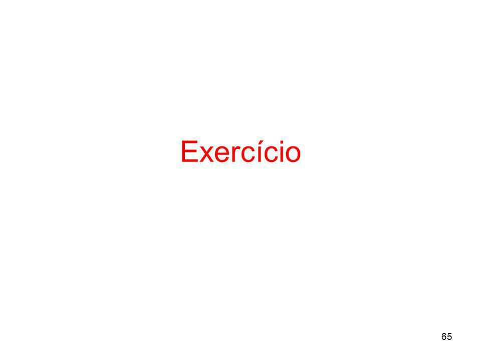 65 Exercício