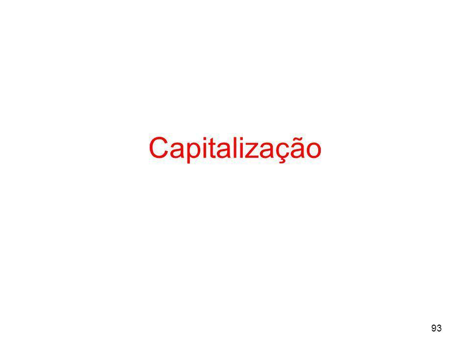 93 Capitalização