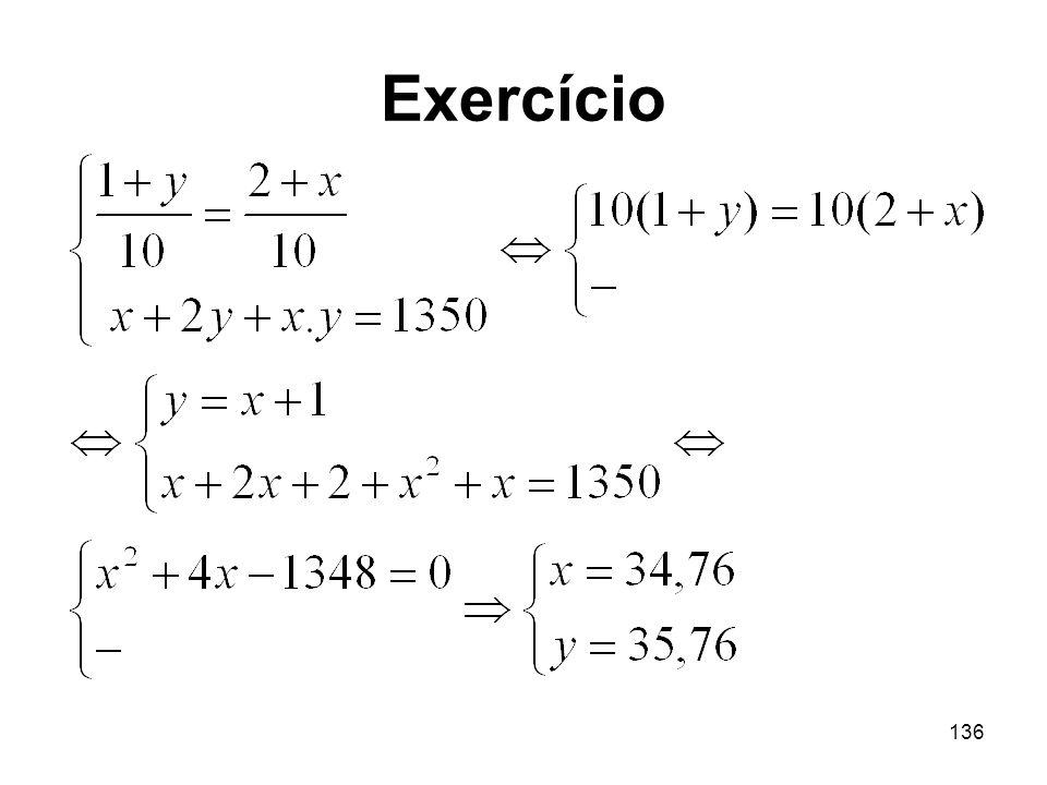 136 Exercício