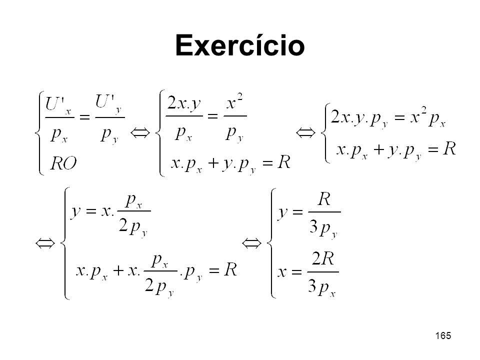 165 Exercício
