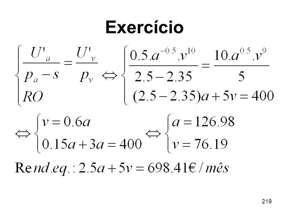 219 Exercício