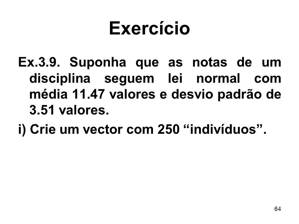 64 Exercício Ex.3.9.