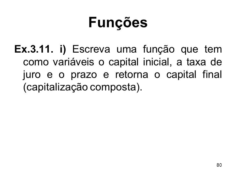 80 Funções Ex.3.11.