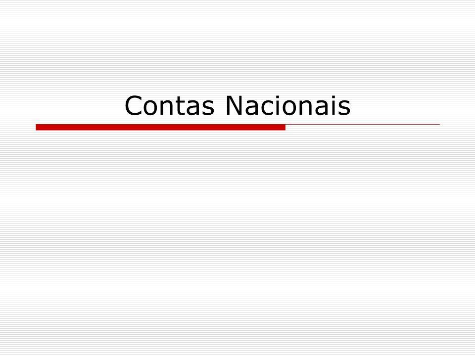 Contas Nacionais