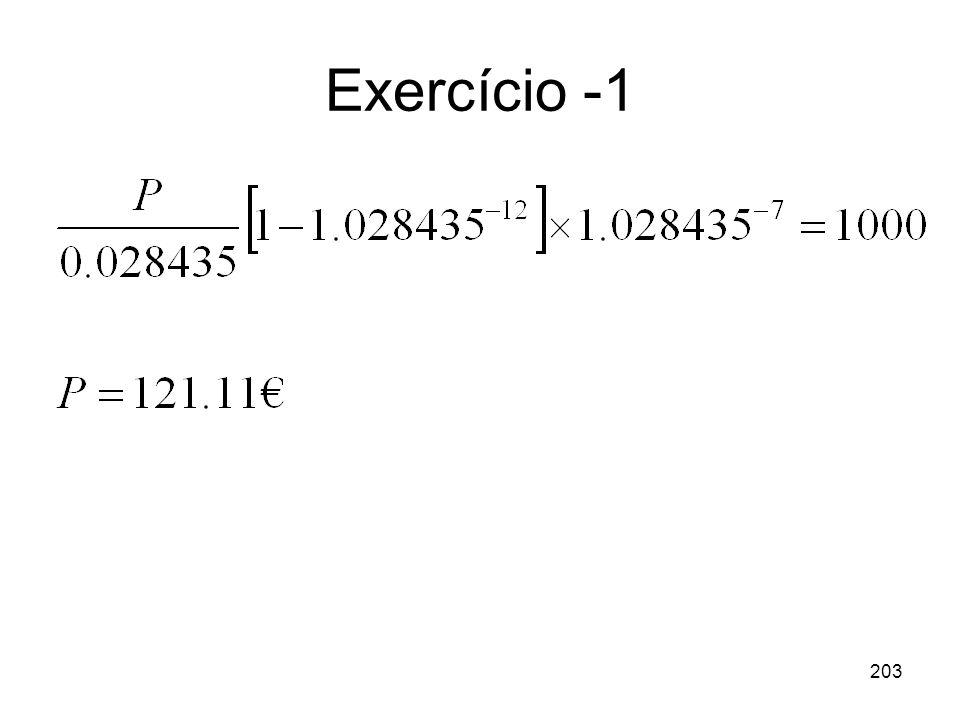 203 Exercício -1