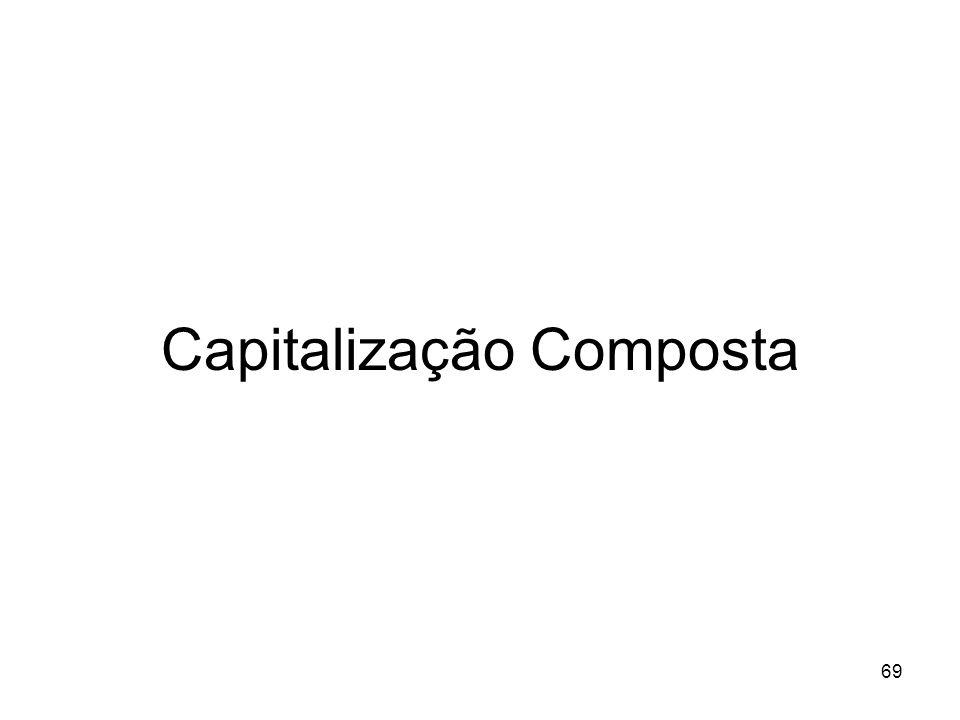 69 Capitalização Composta