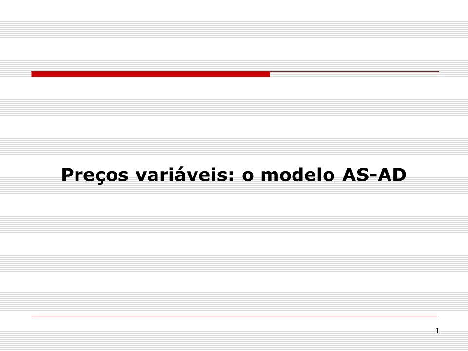 1 Preços variáveis: o modelo AS-AD