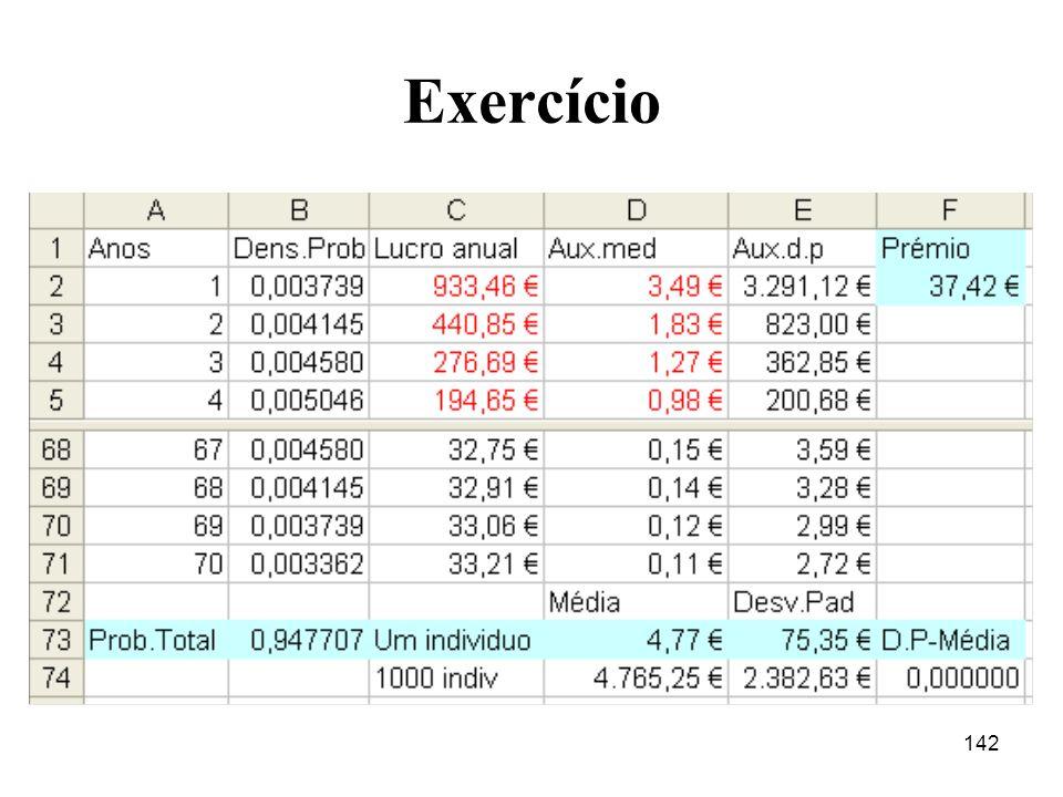 142 Exercício