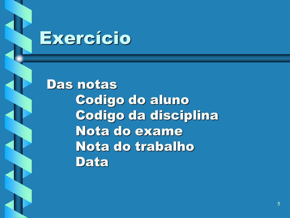 6 Exercício