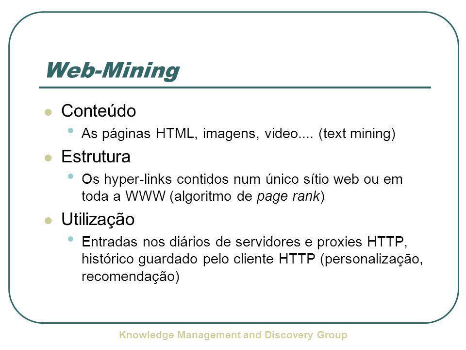 Knowledge Management and Discovery Group Exemplo de uma Sessão Servlet pesquisa, IP d9e.2a.1cs.159, Date 1064962926312, Terms descodificador tvcabo, Language pt, Index sidra, Agent Mozilla/4.0 (compatible; MSIE 6.0; Windows NT 5.1) Servlet pesquisa, IP d9e.2a.1cs.159, Date 1064962971328, Terms crack tvcabo, Language pt, Index sidra, NumberOfDocuments 0, Agent Mozilla/4.0 (compatible; MSIE 6.0; Windows NT 5.1) Servlet pesquisa, IP d9e.2a.1cs.159, Date 1064962998328, Terms crack tvcabo, Language pt, Index sidra, Position 0, Page http://www.esec- madeira-torres.rcts.pt/jornal interactivo 2/sites.htm, QueryID 1064962970178, Agent Mozilla/4.0 (compatible; MSIE 6.0; Windows NT 5.1)