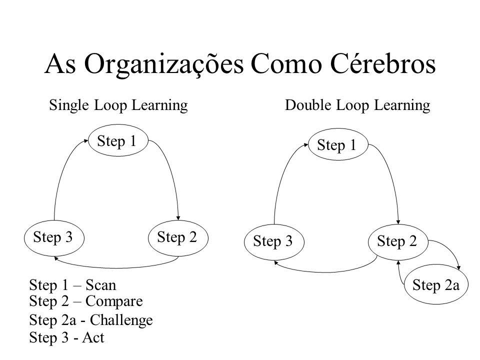 Step 1 Step 2Step 3 Single Loop LearningDouble Loop Learning Step 1 Step 2Step 3 Step 2a Step 1 – Scan Step 2 – Compare Step 2a - Challenge Step 3 - A