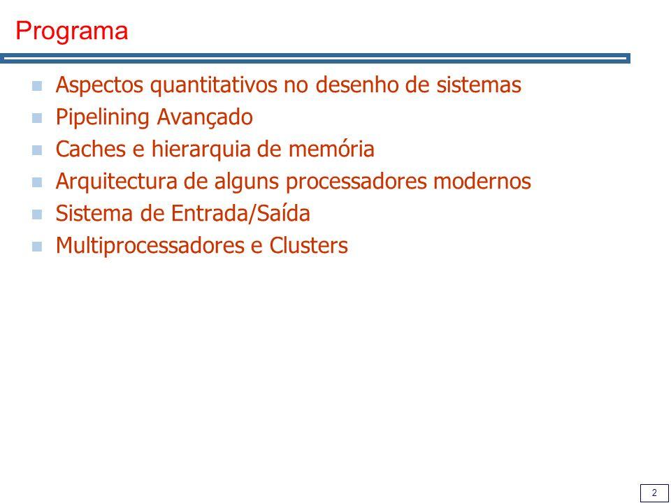 3 Modelo de Funcionamento Aulas Teóricas Conceitos teóricos sobre arquitectura de computadores Discussão de artigos que serão fornecidos Aulas práticas Apoio à realização dos mini-projectos (grupos de 2) Realização de dois mini-testes (devidamente anunciados) Avaliação Exame / Exame de Recurso:12 valores (min=5) 2 Mini-testes:2 valores (min=0) 4 Mini-projectos:6 valores (min=2) Casos especiais Trab.