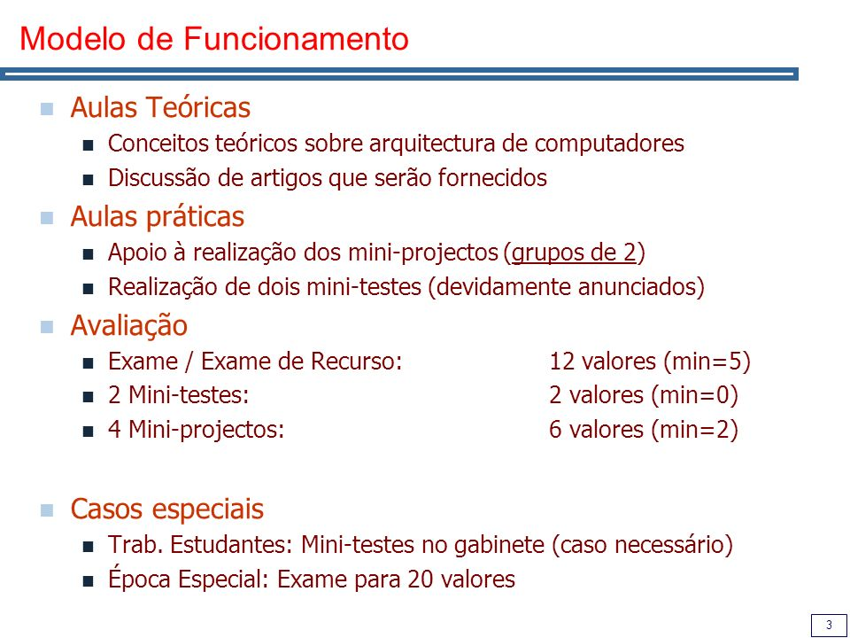 4 Bibliografia Computer Architecture: A Quantitative Approach, 3rd Ed.