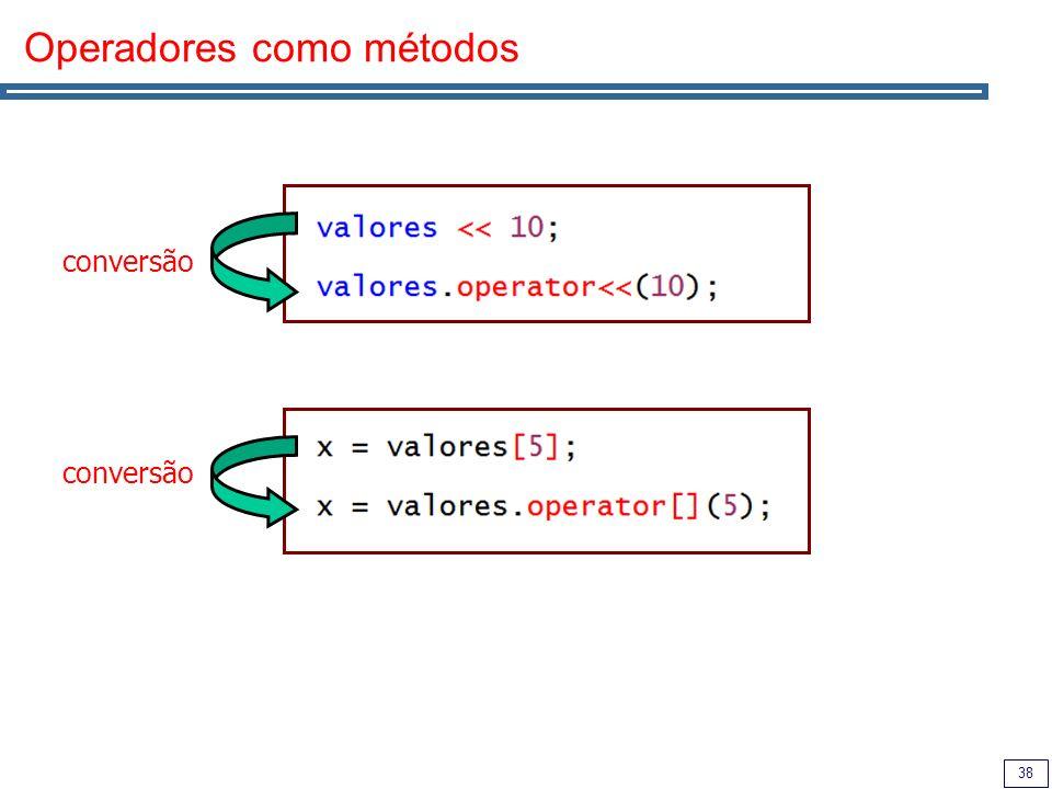 38 Operadores como métodos conversão