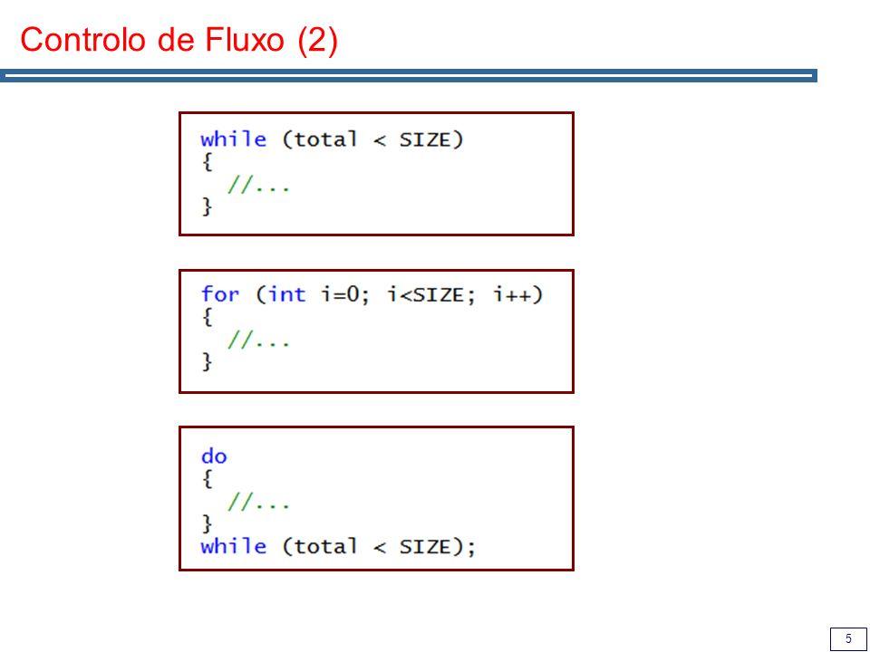6 Aspecto de um programa completo // Importa biblioteca e passa a usar o espaço de nomes standard #include using namespace std; // Programa principal int main() { // Declara uma tabela de inteiros de tamanho variável vector myTable; // Adiciona-lhe 10 números for (unsigned i=0; i<10; i++) myTable.push_back(i); // Imprime o seu conteúdo for (unsigned i=0; i<myTable.size(); i++) cout << myTable[i] << endl; return 0; } Inclusão de bibliotecas Uso da biblioteca standard STL: Biblioteca de estruturas de dados e algoritmos.