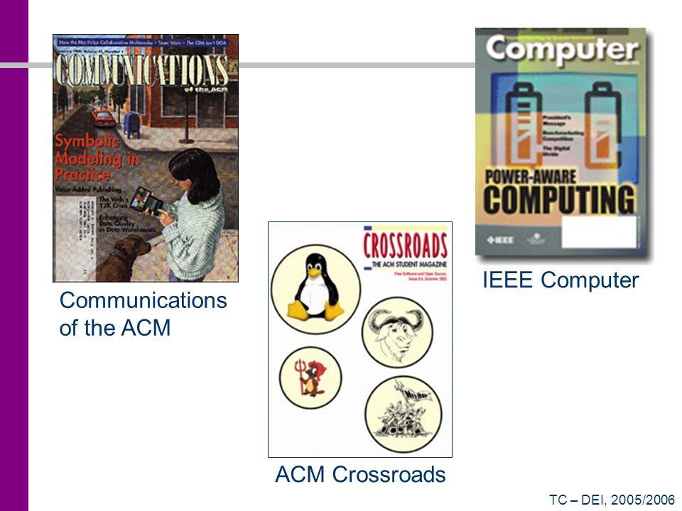 TC – DEI, 2005/2006