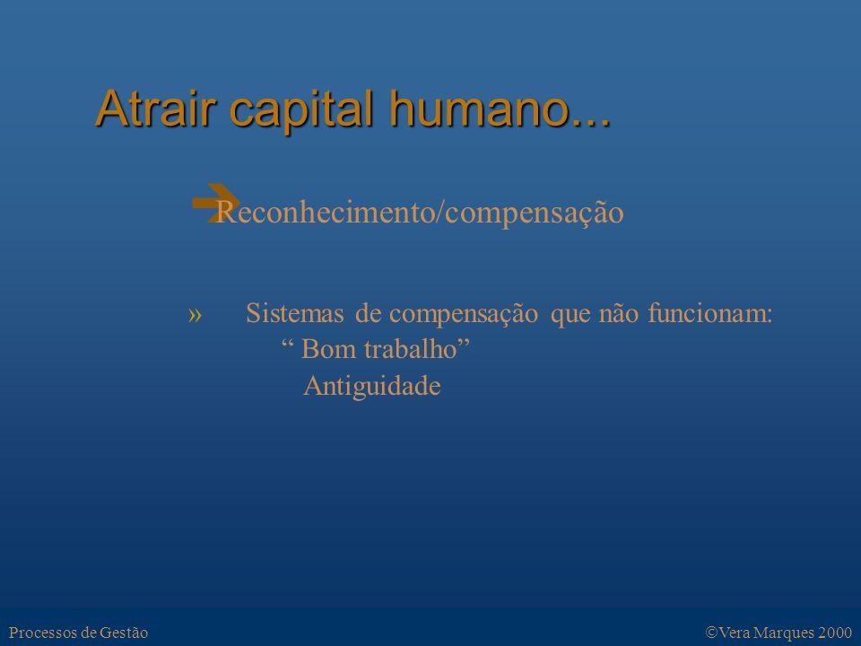Atrair capital humano...