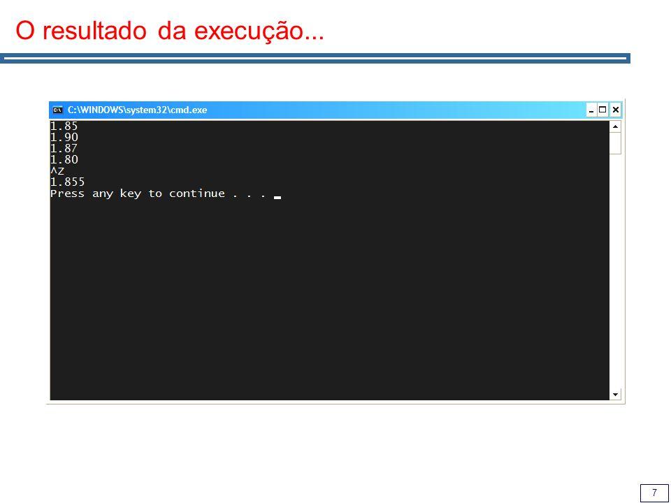 28 list Implementa uma lista duplamente ligada Suporta iteradores para a frente e para trás Ao contrário de vector e deque, não suporta acesso aleatório (operador []), apenas acesso via iteradores.