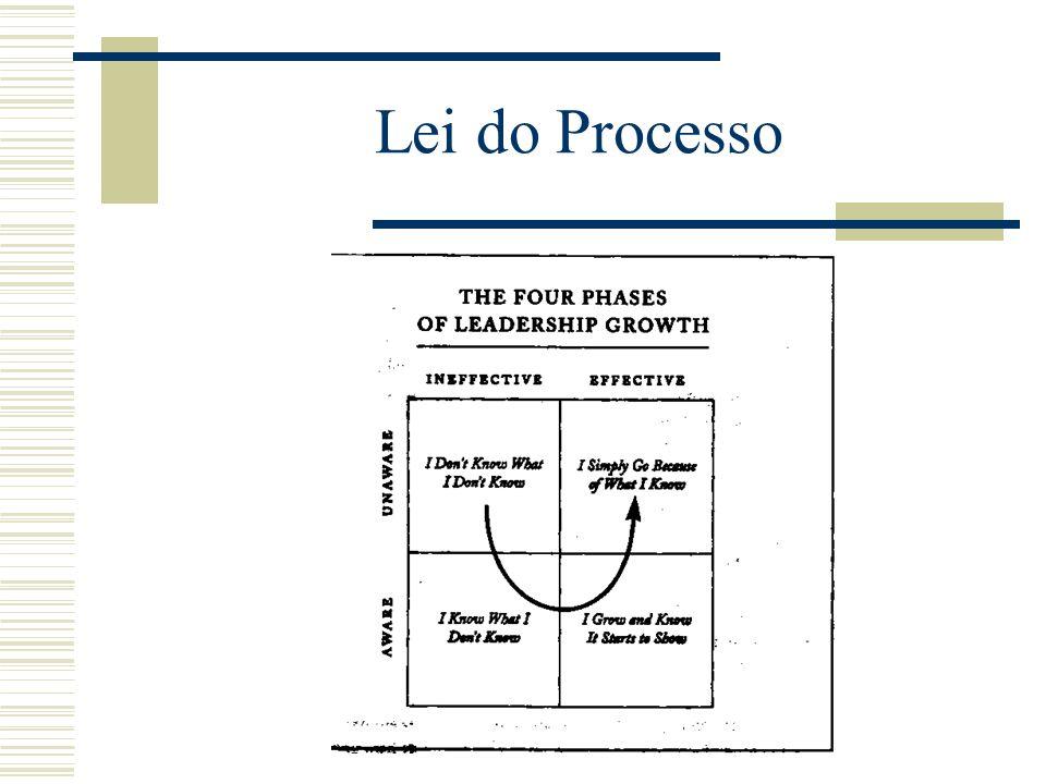 Lei do Processo É a capacidade de desenvolver e melhorar as suas próprias capacidades que distingue os líderes dos seguidores. Os líderes de sucesso s