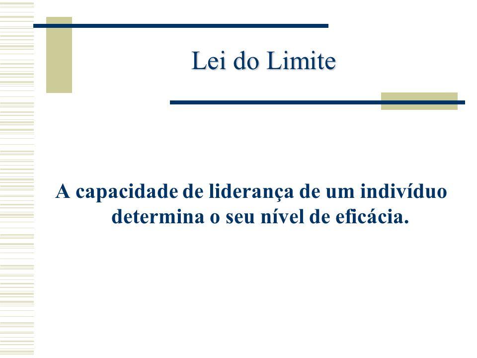 Lei do Legado Lideram a organização numa perspectiva de longo curso.