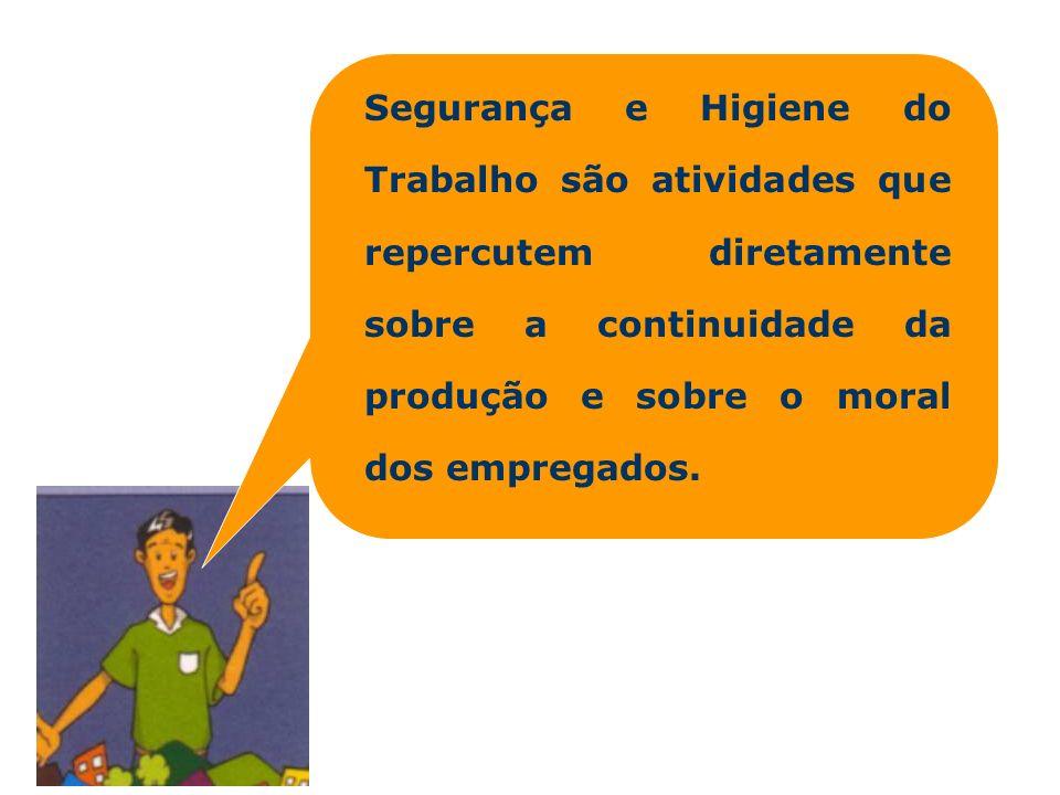 1941 – criação da Associação Brasileira de Prevenção de Acidentes (ABPA); 1943 – institucionalização da CLT (Capítulo V, do Título II da CLT foi dedicado a HST); 1945 – Regulamentação da Cipa; 1950 – emissão das Normas Regulamentadoras de Higiene e Segurança do Trabalho nas Minas HST no Brasil