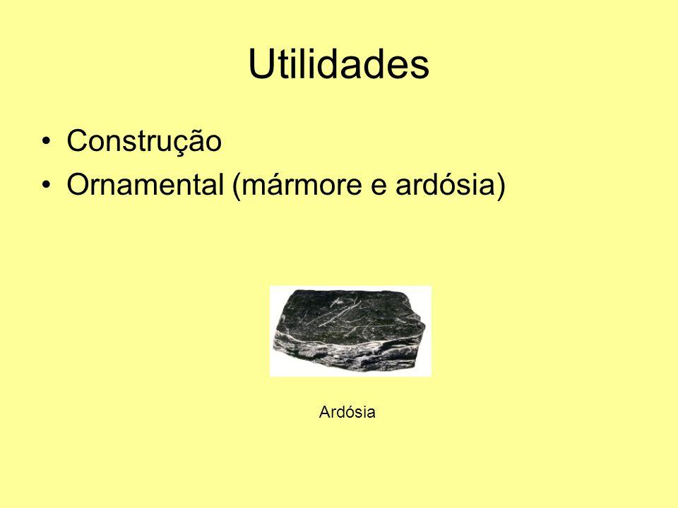 Utilidades Construção Ornamental (mármore e ardósia) Ardósia