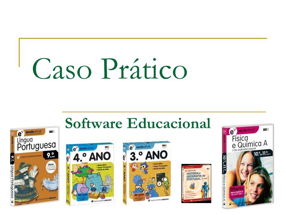 Caso Prático Software Educacional