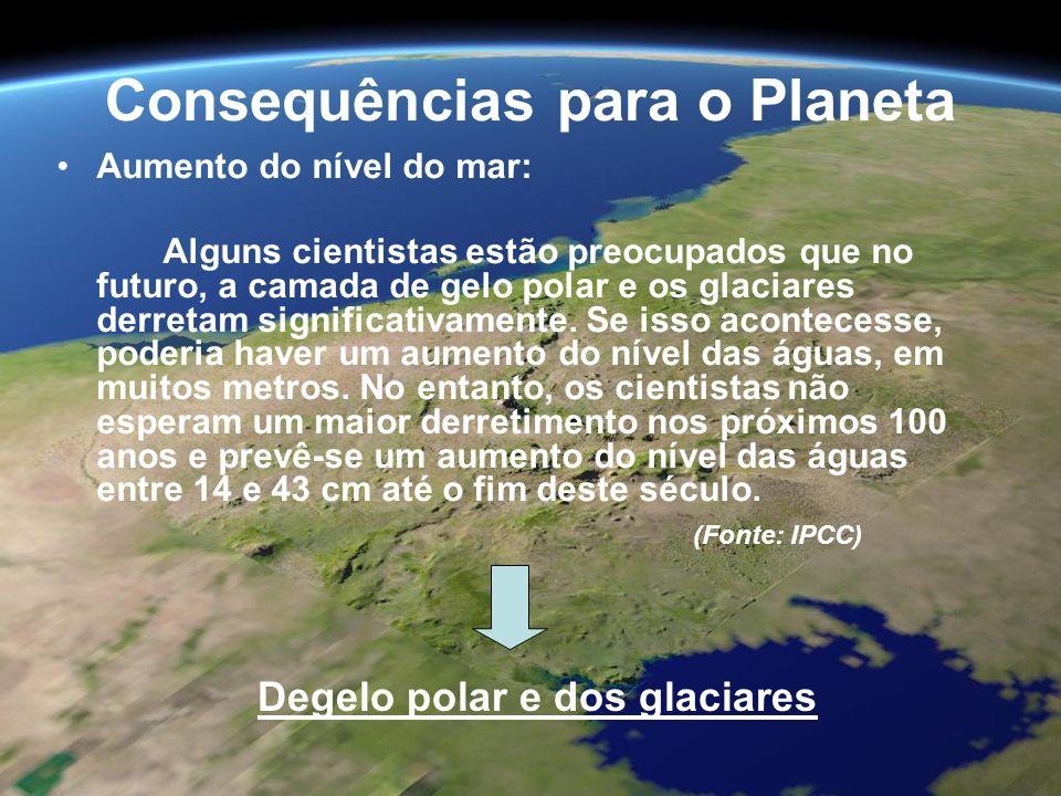 Consequências para o Planeta in: http://www.globalwarmingart.com/