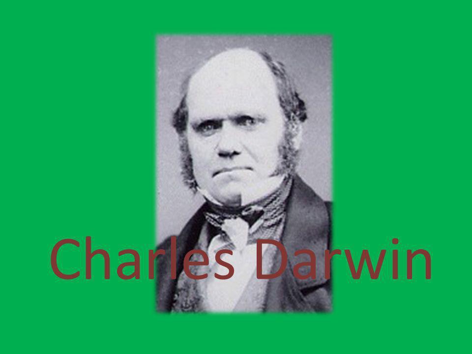 Biografia de Charles Darwin: Nasceu a 12 de Fevereiro de 1809, em Inglaterra.