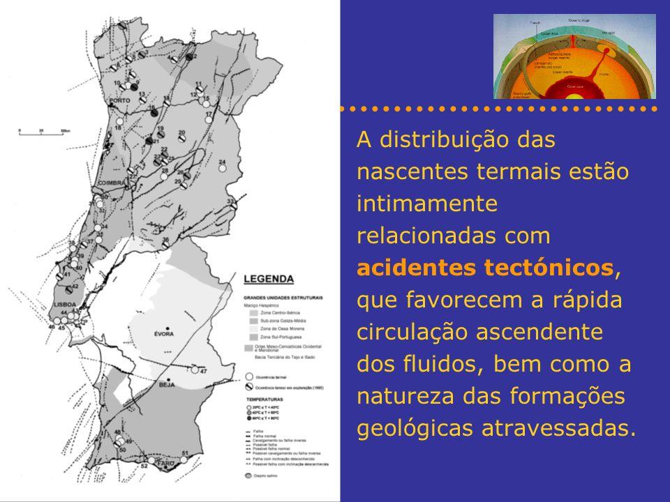 Localização e modos de ocorrência da geotermia em Portugal Centrais geotérmicas em Chaves e S.