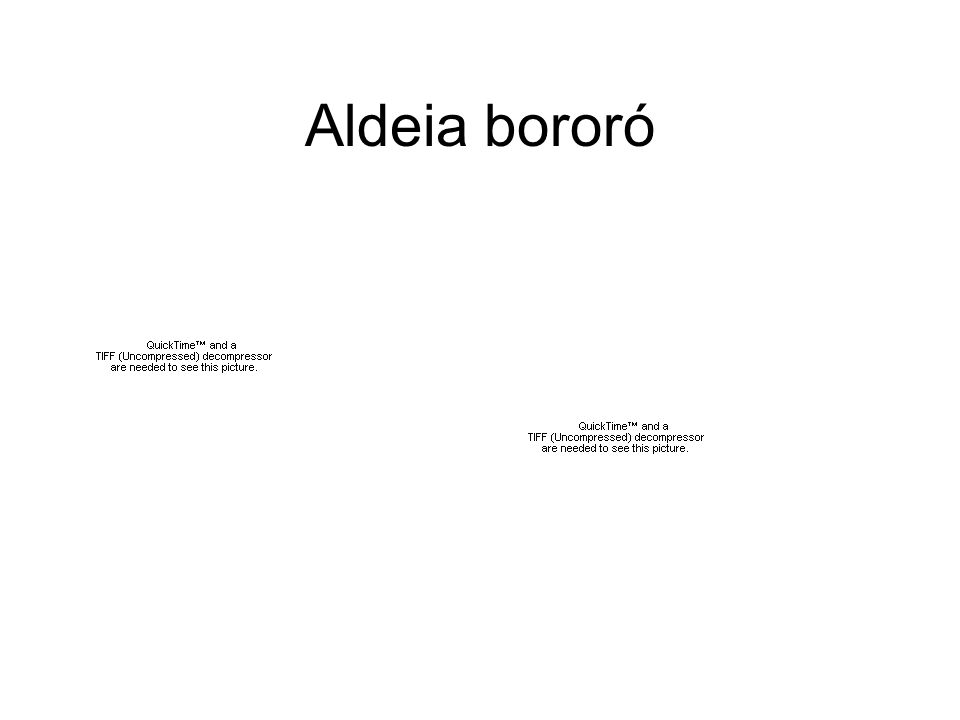 Aldeia bororó