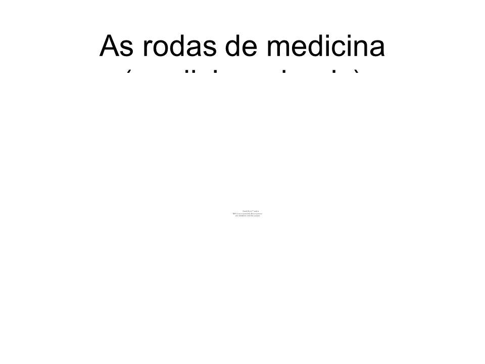 As rodas de medicina (medicine wheels)