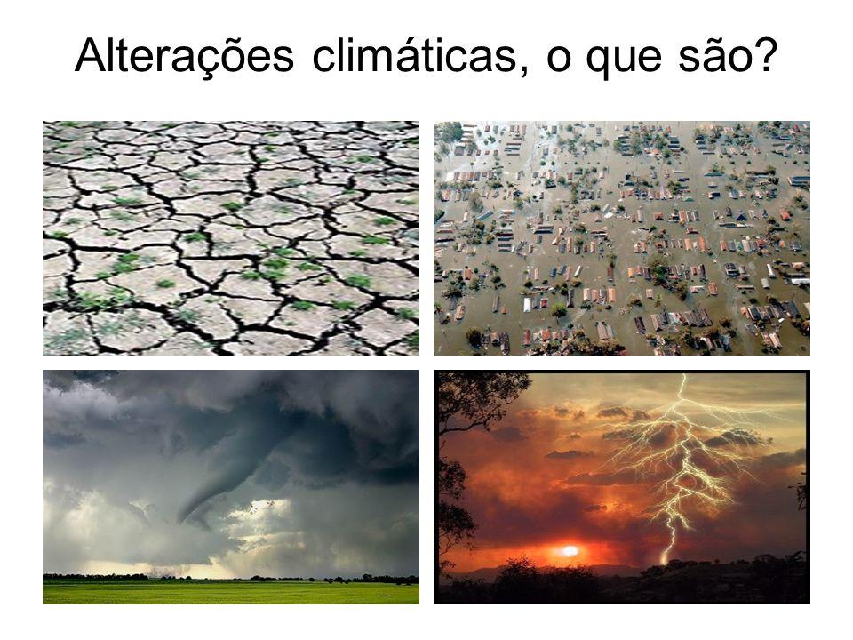 Desde que existem humanos à face da Terra que temos afectado o meio ambiente à nossa volta.
