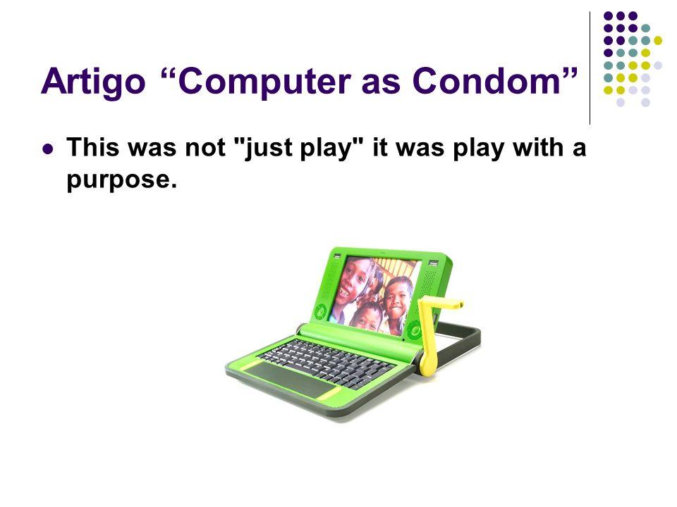 Artigo Computer as Condom This was not