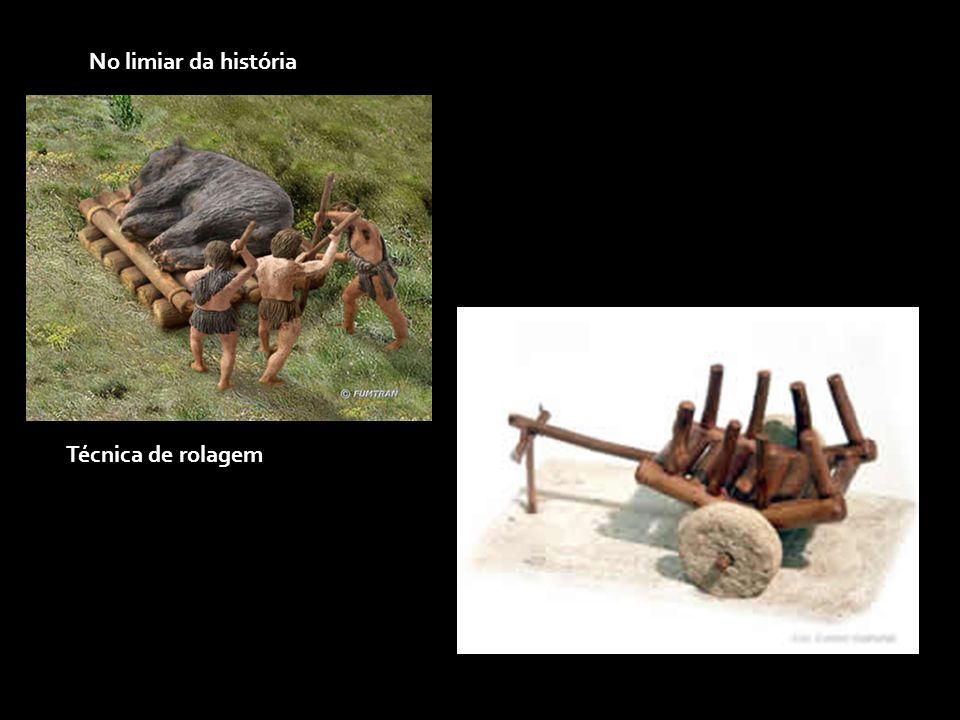 A origem da roda Existem diversas teorias acerca do surgimento da roda, mas nenhum achado arqueológico provou sua origem pré-histórica.