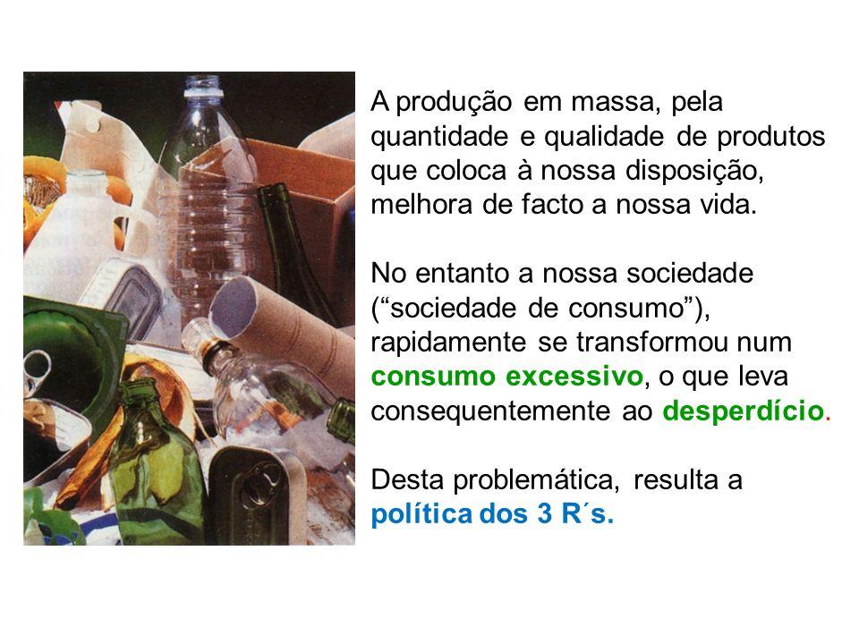 A produção em massa, pela quantidade e qualidade de produtos que coloca à nossa disposição, melhora de facto a nossa vida. No entanto a nossa sociedad