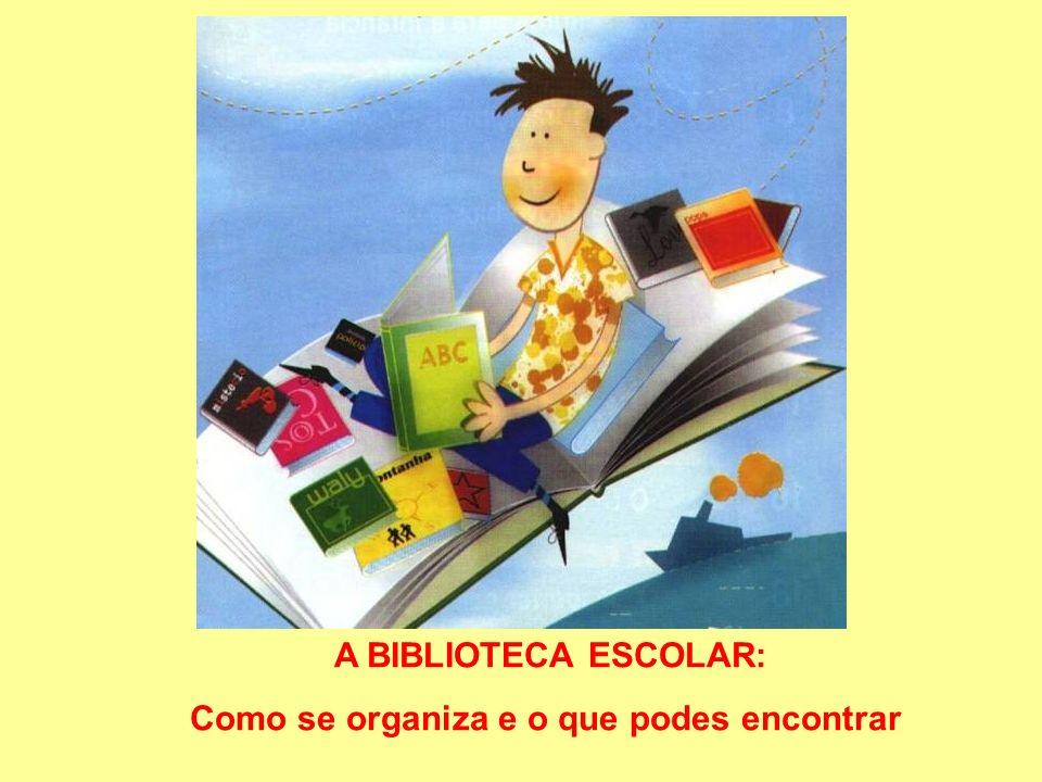 A BIBLIOTECA ESCOLAR: Como se organiza e o que podes encontrar