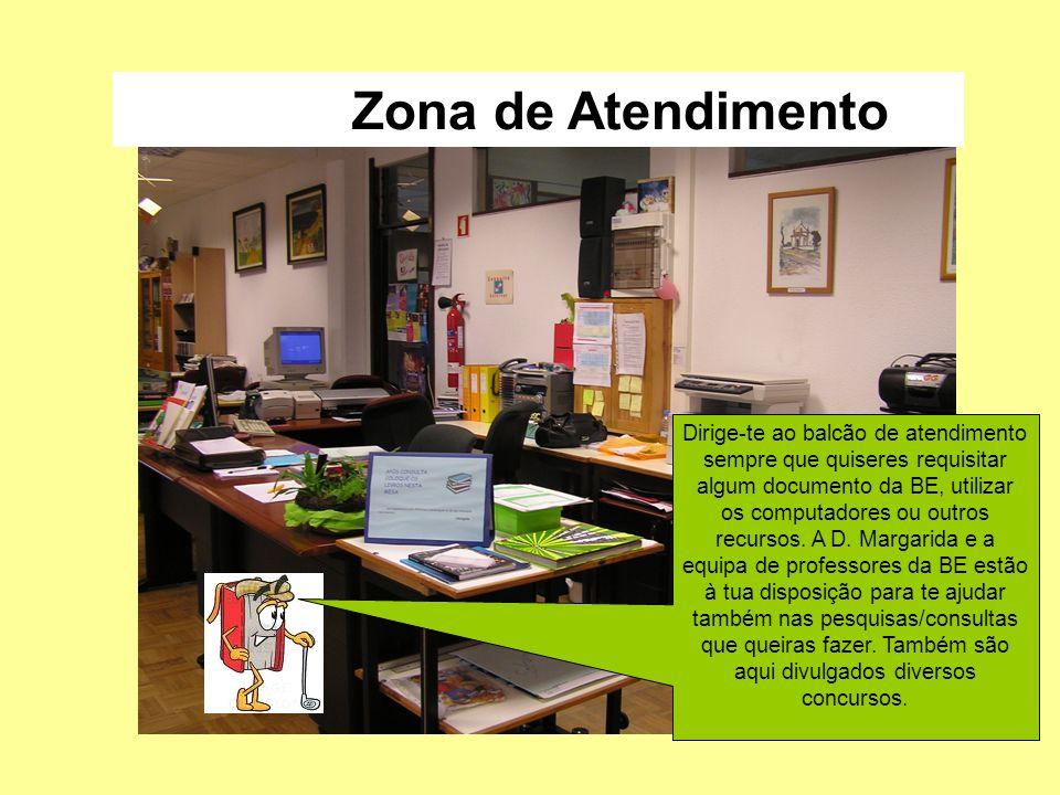 Zona de divulgação das novidades Aqui são divulgados todos os meses os novos documentos entrados na BE (livros, filmes…).